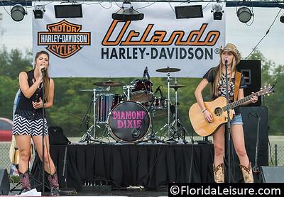 Diamond Dixie at Harley Davidson