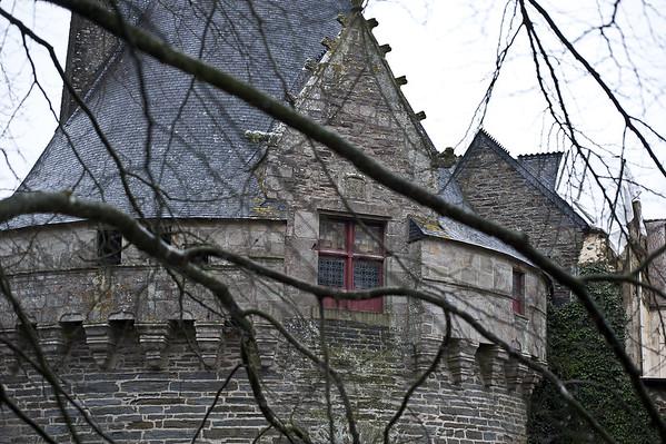 Le château blessé de Pontivy (2015)