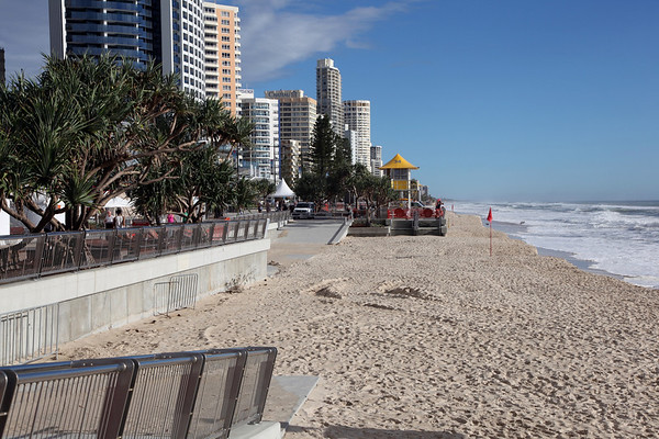Surfers Paradise Beach Erosion Feb 23rd 2013