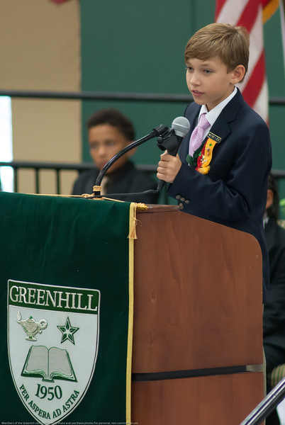 Greenhill 2013 Lower School Graduation