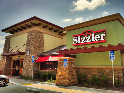 The Sizzler in Lake Forest (shown) is among 55 of the 170 Sizzler restaurants that have been remodeled in 11 states. Sizzler is capping a three-year turnaround effort by moving its headquarters to Mission Viejo. Expansion is also underway for the first time in years.