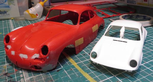 Revell Porsche 356