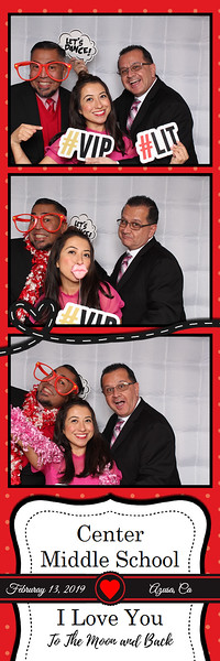 Center Middle School Valentine's Event