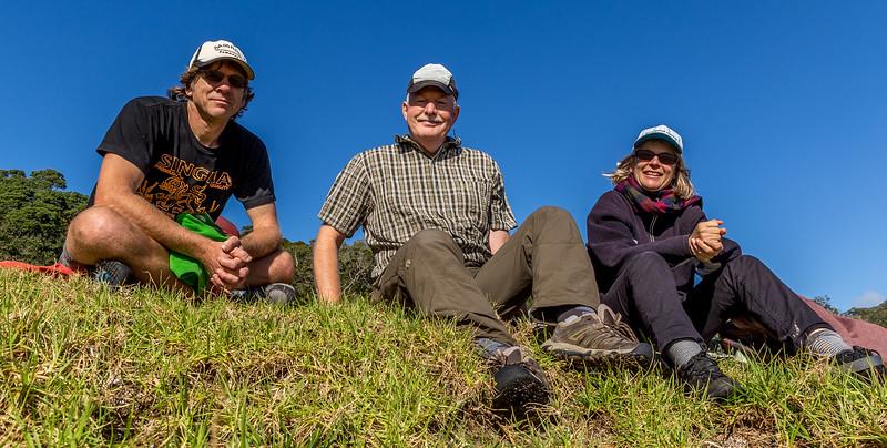 Mit Gaby und Tom an der «Waikahoa Bay»