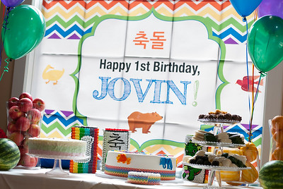 Jovin is ONE!