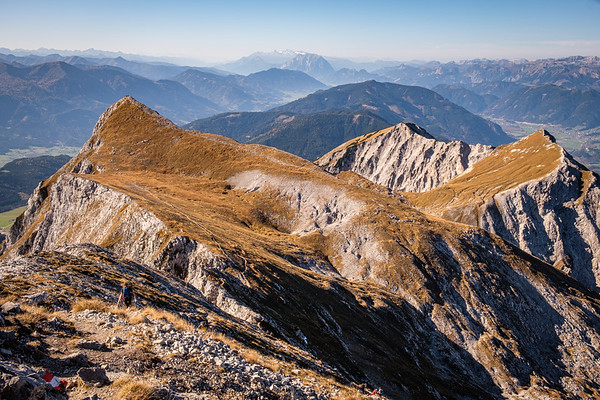 Alpy - Admonter Kalbling, Sparafeld (2247m) - říjen 2019