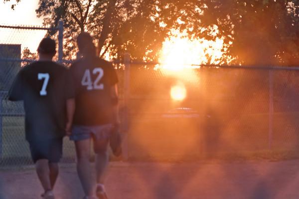 Maroons - Durham East Softball - July 29, 2012