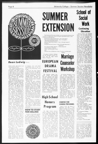 Daily Trojan, Vol. 62, No. 85, March 10, 1971