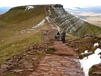 Pen y Fan  13th April