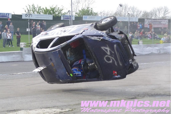 Banger Ramp Roll Over, Northampton, 21 April 2014