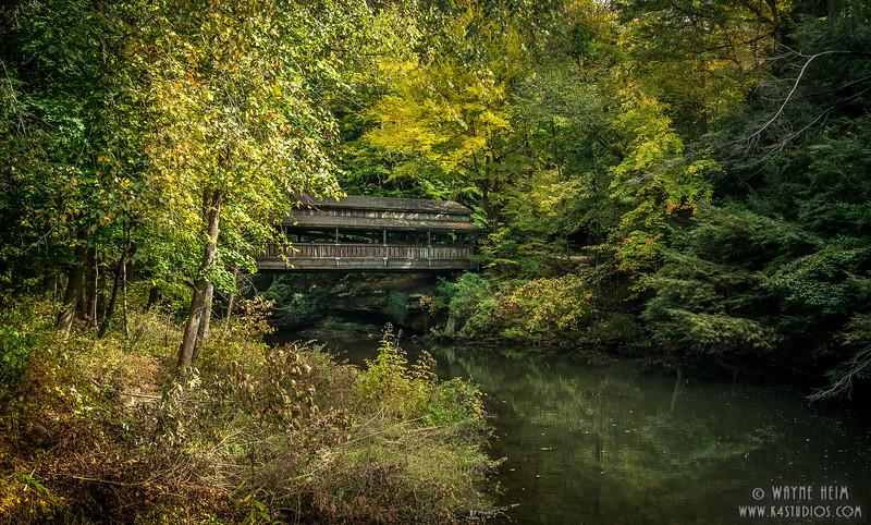 Hidden Bridge    Photography by Wayne Heim
