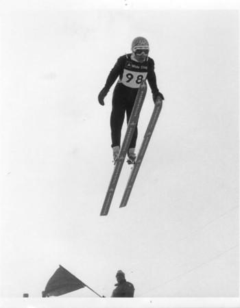Bush Lake Ski Jump:  Minneapolis, MN: Various Years