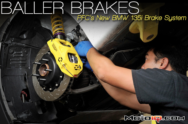 Performance Friction BMW 135i brake kit