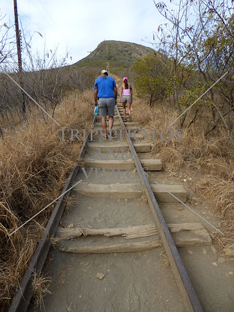 Hiking Koko Head Trail in Hawaii