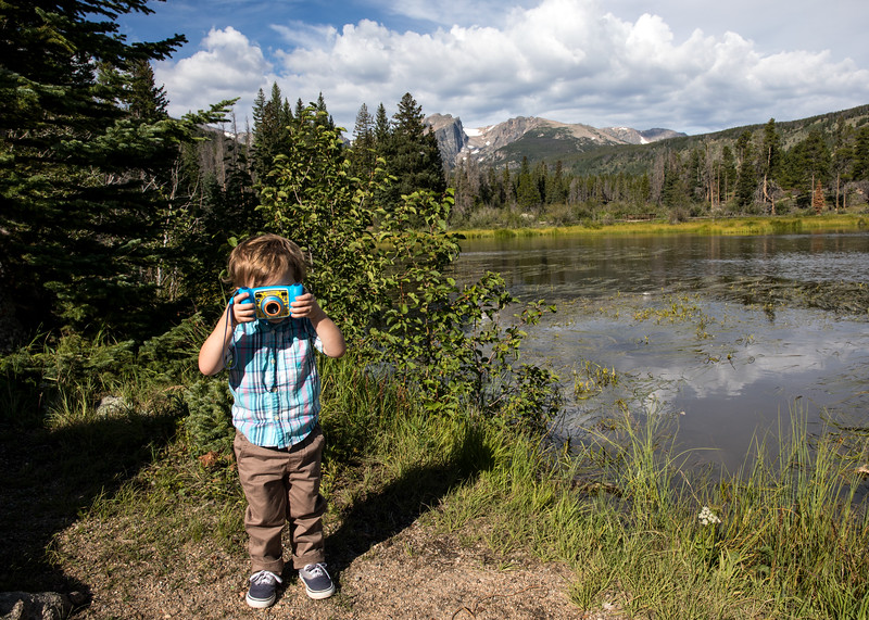 Caleb and Camera at Sprague Lake.jpg
