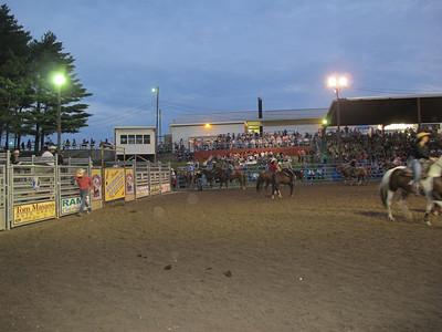 Jeff Pearson, Rodeo, Mountain Spring Arena, Shartlesville (8-25-2012)