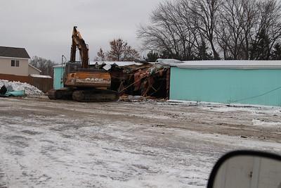 Aqua Lanes demolition