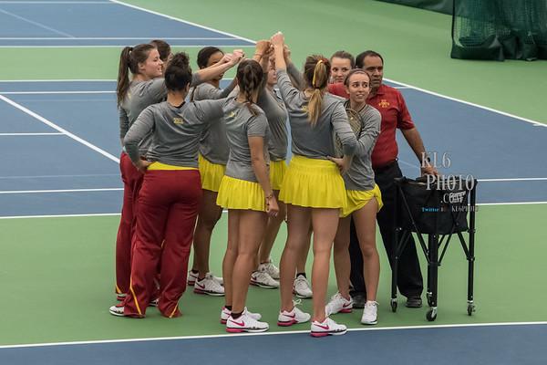 ISU Tennis vs Baylor 03/31/17