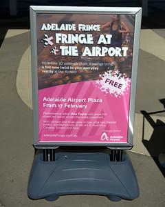 Adelaide Fringe 2016 - Fringe At The Airport