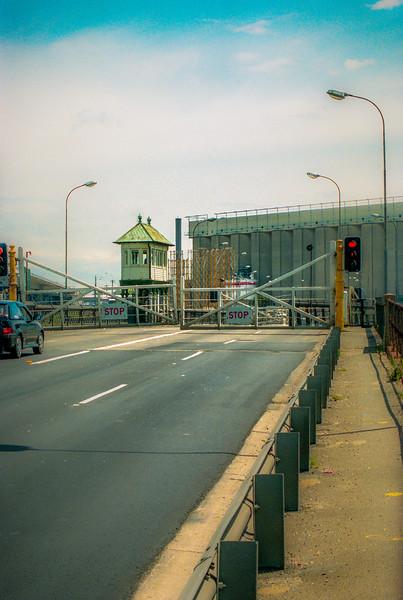 The Glebe Island Bridge Swinging Open
