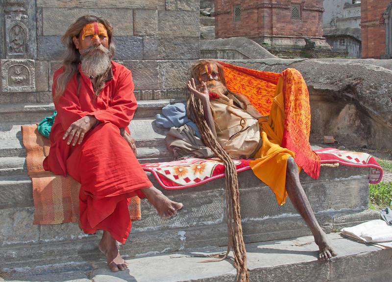 sadus in Nepal