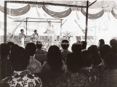 1973 - PELANCARAN RESMI EXPRES MARA KUALA LUMPUR,MUAR, JOHOR BAHRU