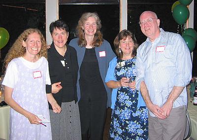 Ruth Susser, Eve Rosenberg, Renee Purse, Norma Mahoney & Neil Flewellen