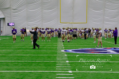 "CPA Football @ ""The Bubble"" - 2018 (Titans Indoor Practice Facility)"