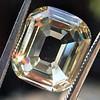 4.94ct Cushion Emerald Cut Diamond, GIA 0