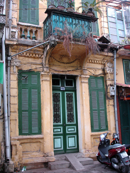 a home in the French Quarter, Hanoi