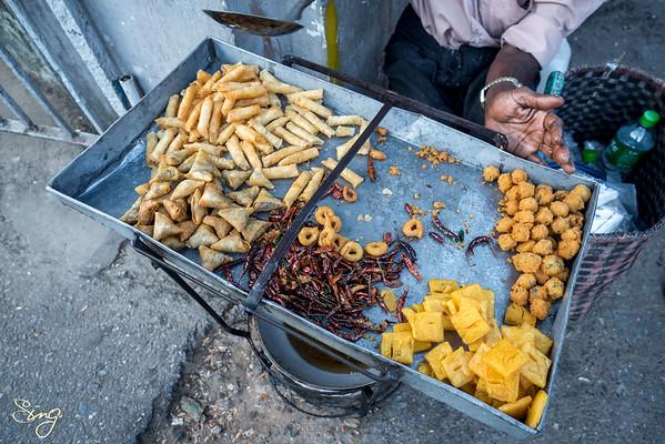 Downtown Street Food. Yangon, Myanmar (Birma)