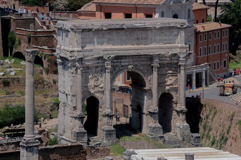 Triumphal Arch, The Forum.