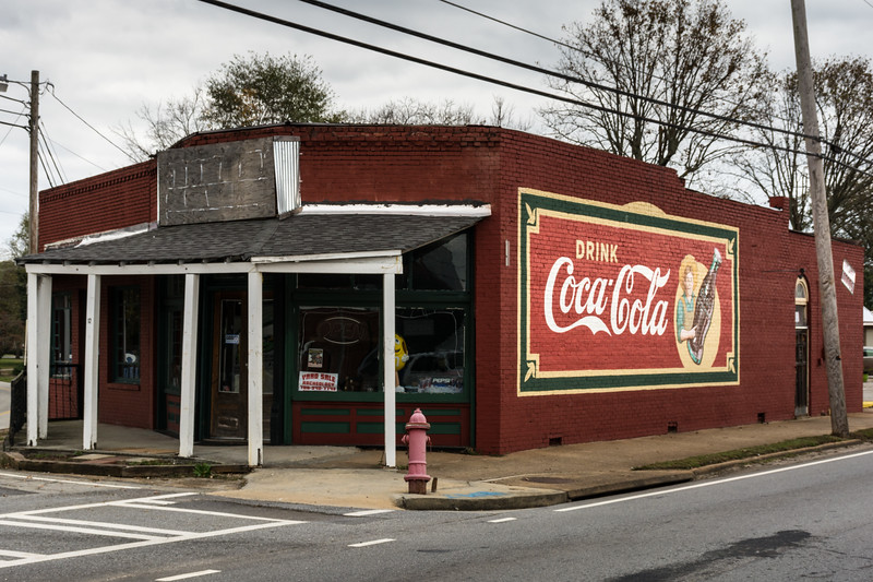 GA, Commerce - Coca-Cola Wall Sign