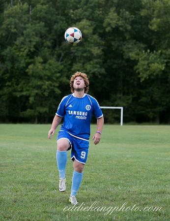 Soccer game 2014-8-24