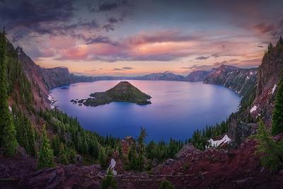 Washington, Oregon & California