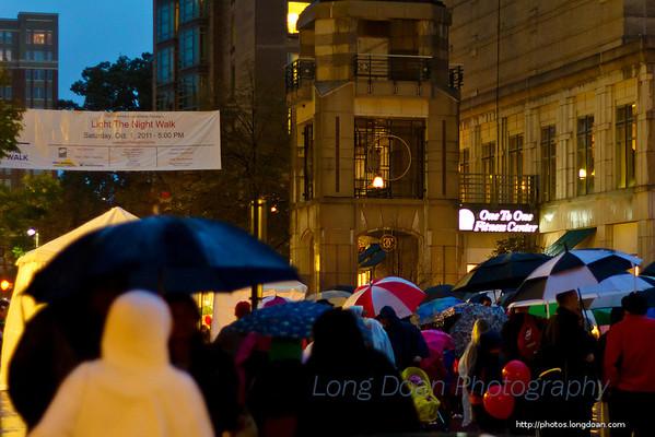 Light the Night Walk, October 1st 2011