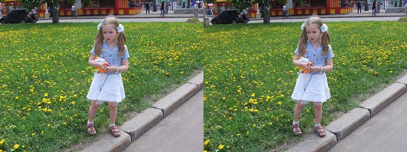 2011-05-22, VVC and Botanical Garden with Milonovs (3D LR)