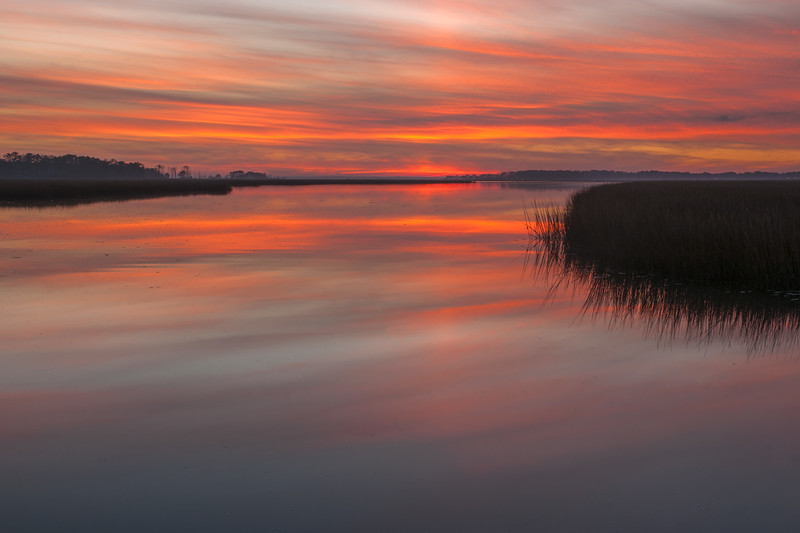 Chincoteague Island Sunset