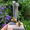 Vintage Bee Conversion Earrings 9