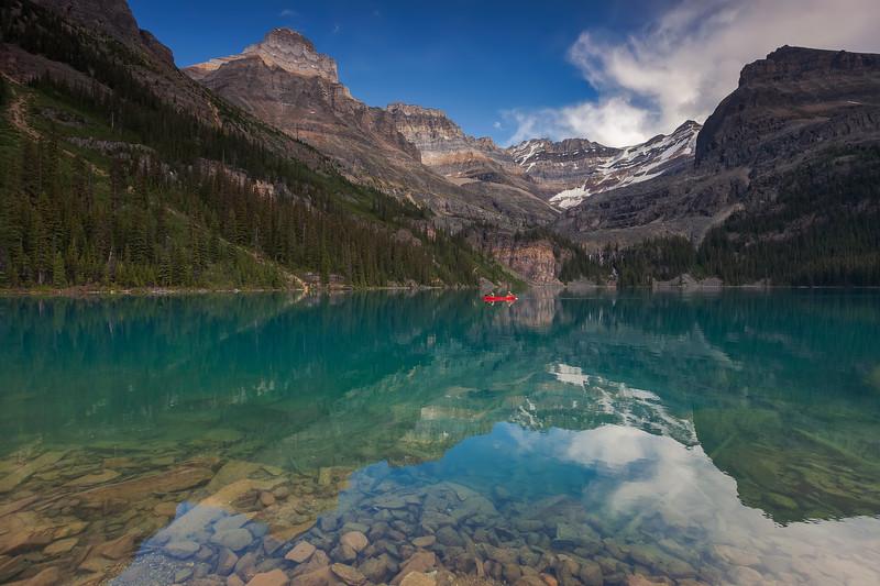 Lake O'Hara, Yoho National Park. British Columbia, Canada.