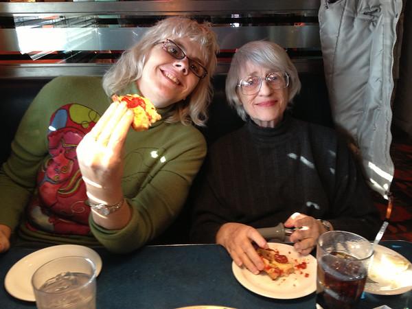 Moving Mom, January 2013