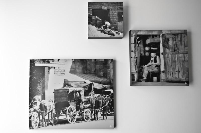 The photographs