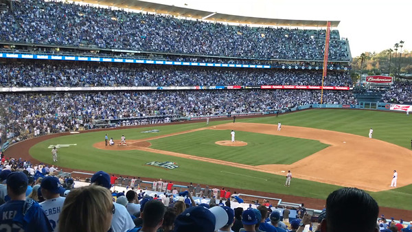 Dodgers Win National League Division Title