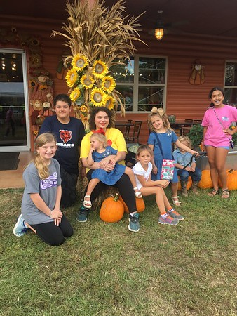 2018 Pumpkin Patch Outing
