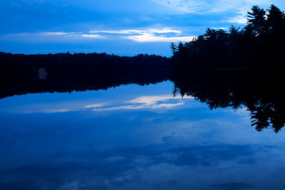 2010-07-19 Sunset on Lost Lake
