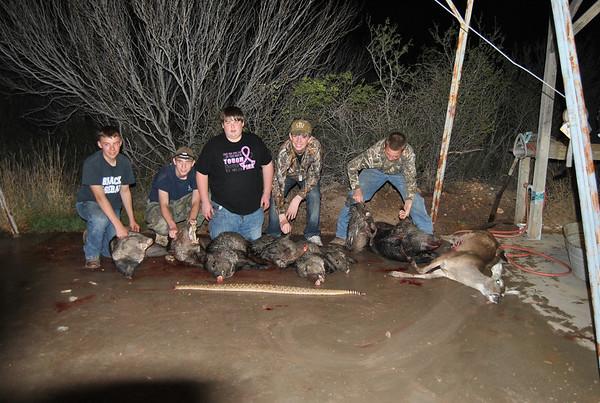 2013 Javelina Hunt South Texas