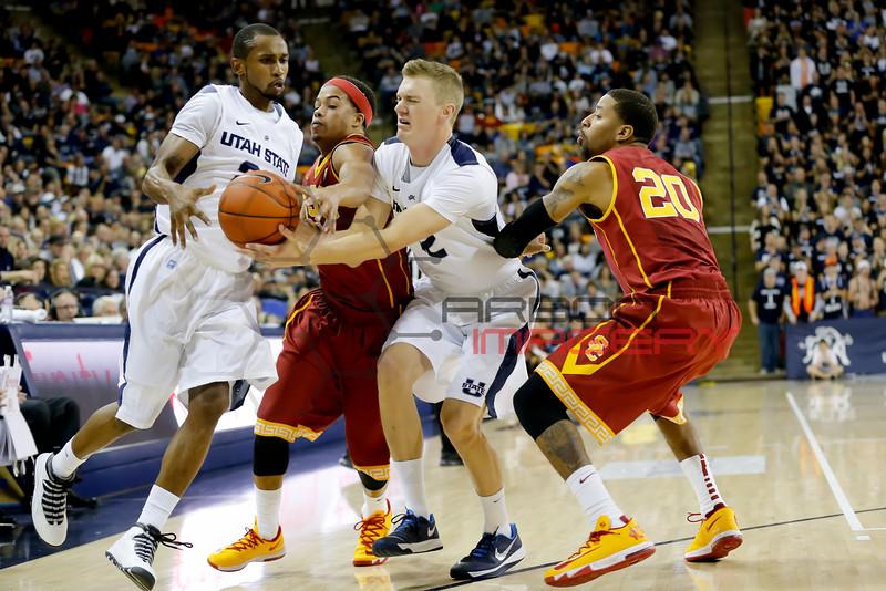 NCAABB: Southern California at Utah State
