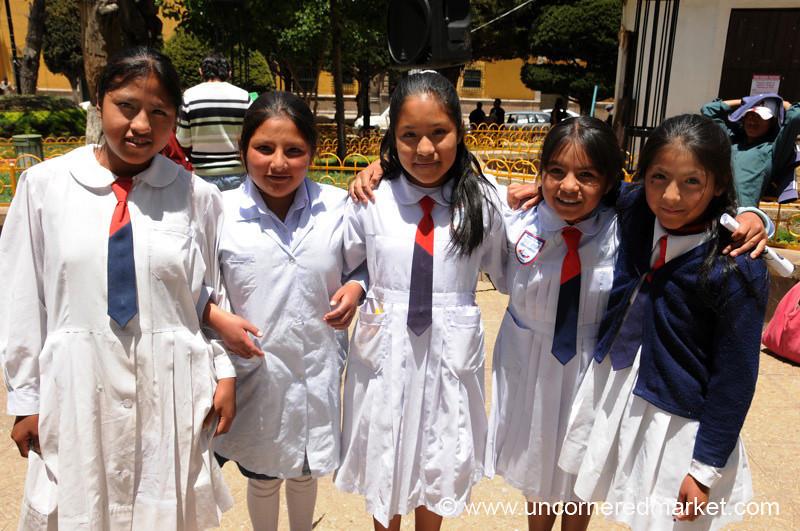 Dressed for School - Potosi, Bolivia