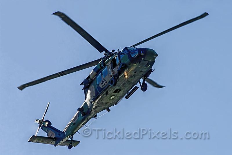 Australian Army Black Hawk Helicopter A25-104