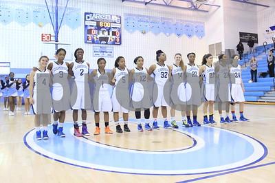 Quince Orchard @ Clarksburg Girls Var Basketball 2015